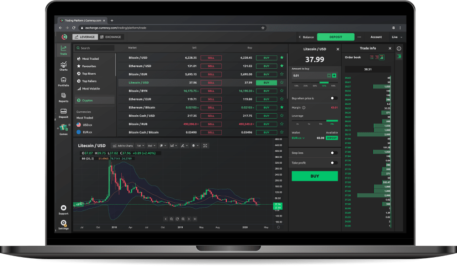 which trading platform offer cryptocurrency