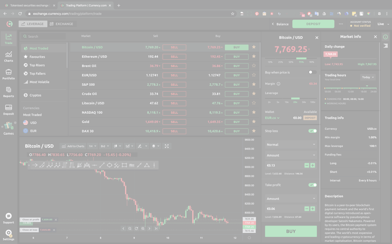 safest and oegal in the ud cryptocurrency trading platform